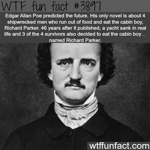 Edgar Allan Poe and Richard Parker coincidence - WTF fun facts