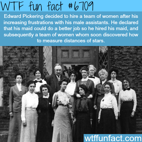 Edward Pickering - WTF fun fact