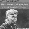eleanor roosevelt wtf fun fact