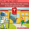 elon musk creates his own kids school wtf fun