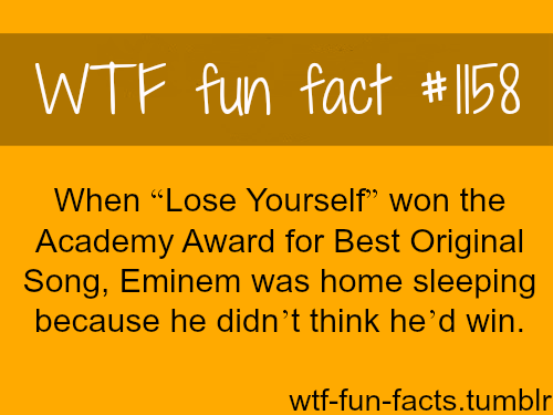 Eminem - celebrities facts