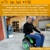 engineer kevin halsall develops a new wheelchair