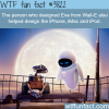 eve from wall e designer also designed the iphone and
