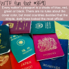 every countries passport color is a shade