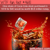 facts about coca cola wtf fun facts