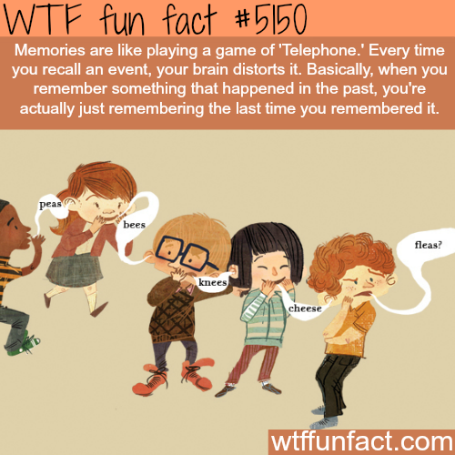 Facts about memories  - WTF fun facts