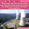 facts about nuclear power wtf fun facts
