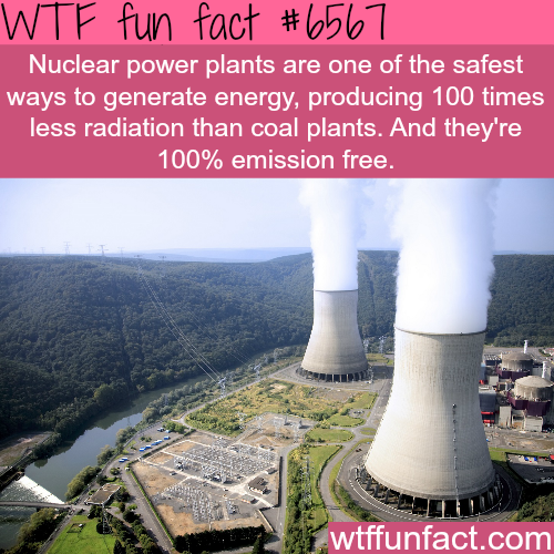 Facts about nuclear power - WTF fun facts