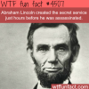 facts you never knew about abraham lincoln wtf