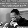 facts you never knew about martin luther king