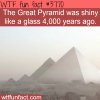 facts you never knew about the pyramids wtf fun