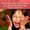 fake laughing wtf fun fact