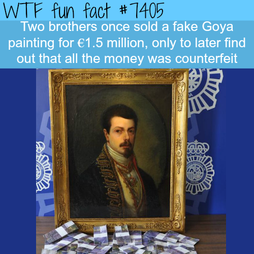 Fake painting by Goya - FACTS