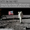 faking the moon landing wtf fun facts
