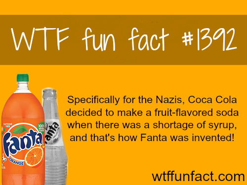 Fanta - Coca cola and the NAZI connections