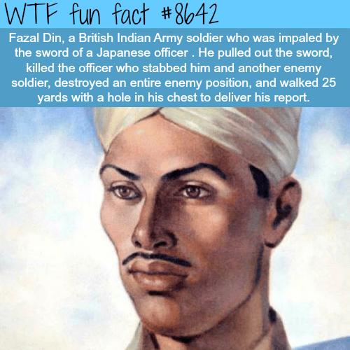 Fazal Din - WTF fun facts