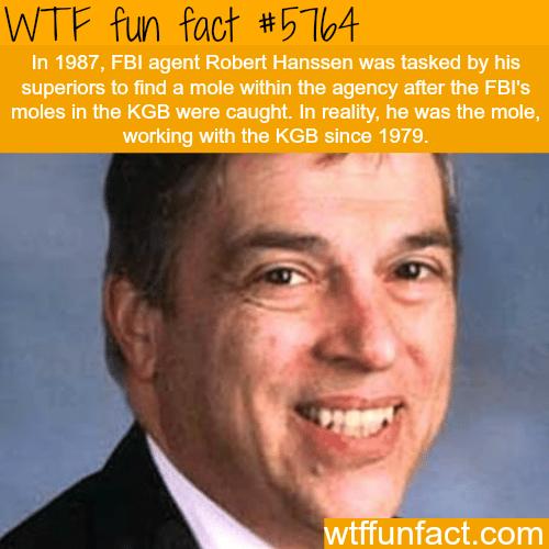 FBI agent Robert Hanssen - WTF fun facts
