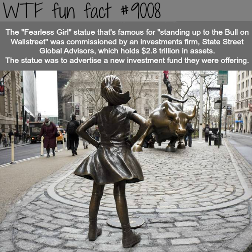 Fearless Girl Statue - WTF fun facts