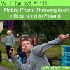 finlands mobile throwing sport wtf fun facts