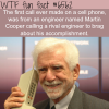 first call from a cell phone wtf fun facts