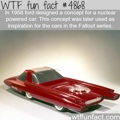 Ford concept car that inspired the cars in Fallout series - WTF fun facts