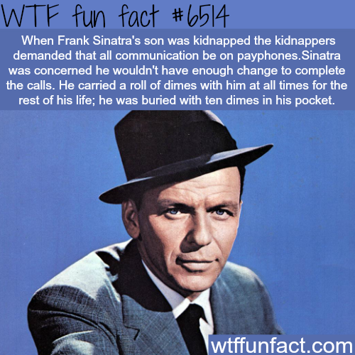 Frank Sinatra - WTF fun facts