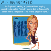french leave wtf fun facts