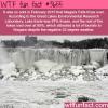 frozen niagara falls the harsh winter of february 2015