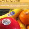 fruits stickers are edible wtf fun facts