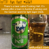 fucking hell beer wtf fun facts