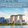 fun facts about singapore wtf fun facts