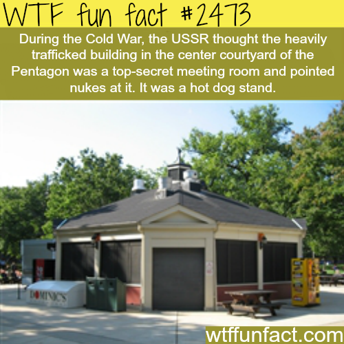 Funny cold war facts - WTF fun facts
