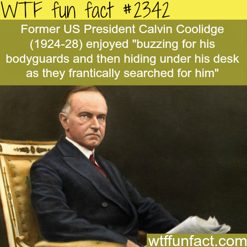 Funny facts about U.S. presidents -WTF funfacts