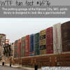 garage of a public library in kansas looks like a