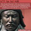 genghis khan burial site wtf fun fact