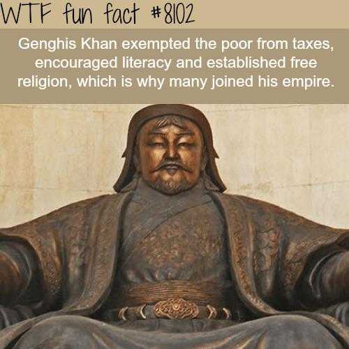 Genghis Khan - WTF fun facts