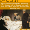 george washington death wtf fun facts