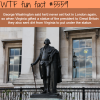 george washington statue london wtf fun facts