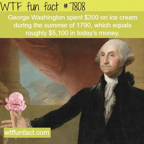 George Washington - WTF fun facts