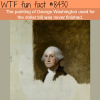 george washingtons unfinished painting wtf fun