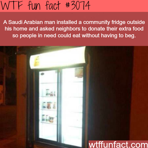 Good deeds to help your community -WTF fun facts