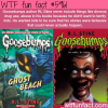 goosebumps wtf fun facts