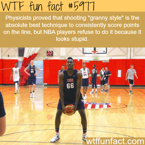 Granny style shooting - WTF fun facts