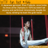 gymnast breaks his knee and wins a gold medal at