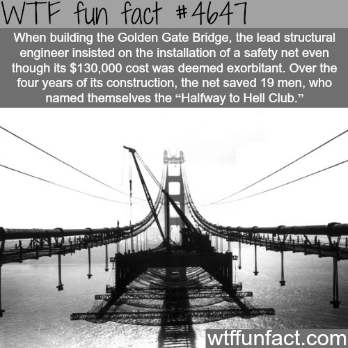 Halfway-to-Hell Club - WTF fun facts