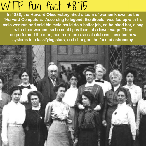 Harvard Computers - WTF fun fact