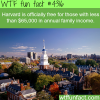 harvard is now free for those with a family income is