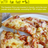 hawaiian pizza wtf fun fact