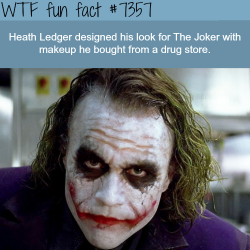 Heath Ledger - WTF fun facts