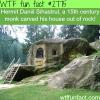 hermit daniil sihastrul stone house